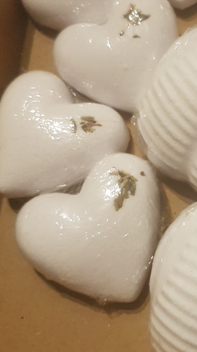 Relax with this Heart Shaped Lavender Shower Steamer - With Essential Oils