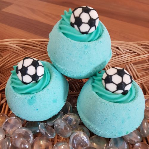Football Frenzy Bath Bomb with Shea Butter