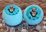 Christmas Penquin Bath Bomb with Shea Butter
