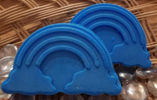 Blue Rainbow Soap