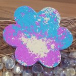 Jumbo Flower Bath Bomb - Pink, Yellow & Blue