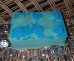 Blue & Green Brick Bath Bomb