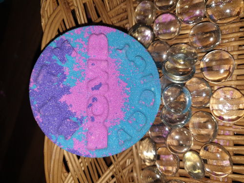 Bath Bomb Addict Bath Bomb - Pink, Purple & Blue
